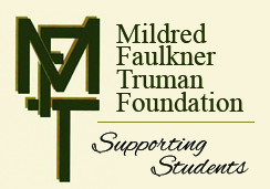 Mildred Faulkner Truman Foundation logo with text