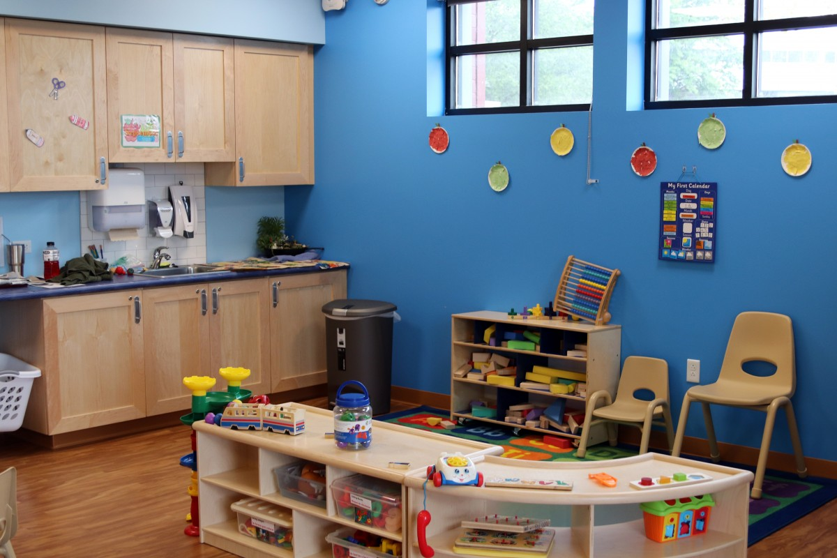 Play room in the Childcare Center