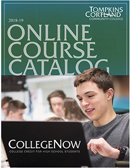 CollegeNow Online Catalogue Cover
