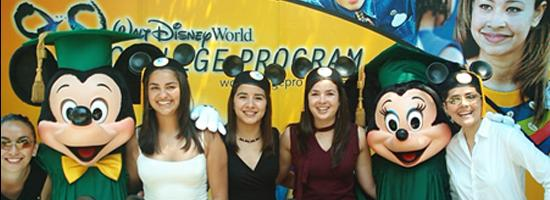 Students in Disney College Program