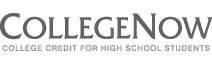 CollegeNow College Credit for High School Students